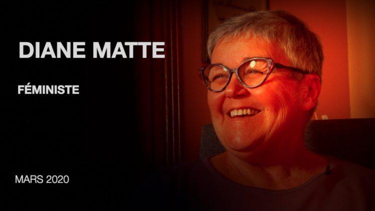 Diane Matte, féministe