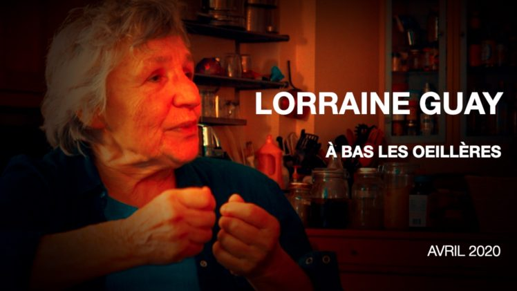Entrevue avec Lorraine Guay