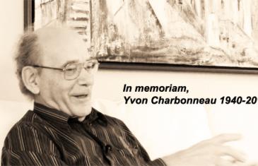 Yvon Charbonneau nous a quitté