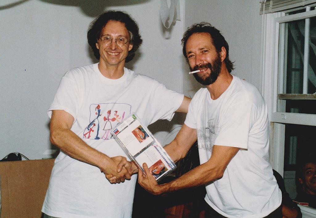 Pierre Falardeau et André Laplante